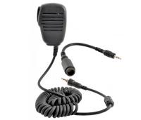 Micro de solapa Cobra - Micro con altavoz de solapa para emisoras portátiles Cobra MR HH125; MR HH350; MR HH500. .   Muy cómodo para comunicarse en entradas y salidas a puerto.