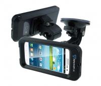 Carcasa Estanca Armor-x MX U214CB BK para móviles, con control táctil de pantalla.