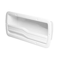 Registro Guantera Lateral Nuova Rade - Para estibar en cubierta todo tipo de materiales con seguridad..   Fabricado en plástico color blanco.