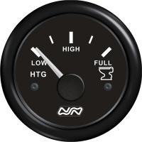 Indicador de nivel para Residuos Nuova Rade - indicador de nivel para depósitos de residuos.   Frecuencia: Tipo VDO (0-190 o 240-33 Ohmios).   Diámetro: 52 mm..   Voltaje: 12/24 V