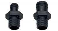 Conector ventilacion Nuova Rade para depositos - Racord toma de aire para depósitos.   Diámetros manguera: 16 o 20 mm