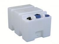 Deposito Rigido Ercole para Agua Potable. Capacidad 45, 56 o 70 litros - Depósito de polietileno translúcido de alta resistencia, para almacenar agua potable a bordo..   Capacidad: 45, 56 o 70 Litros, según modelo.