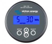 Monitor de baterías Victron BMV - 700. Instrumento medidor de consumos de bateria - El monitor de baterías BMV 700 de Victron Energy indica el nivel de carga, de autonomía y mucho más. En las opciones básicas de visualización de este dispositivo encontramos los siguientes parámetros: tensión, corriente, y amperios hora consumidos. Pero también muestra el estado de carga, la autonomía restante y la potencia consumida en vatios...