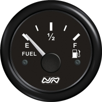 Indicador de nivel para combustible 0-190 Ohm - indicador de nivel para depósitos de combustible.   Frecuencia: Tipo VDO (0-190 Ohmios).   Diámetro: 62 mm..   Voltaje: 12/24 V