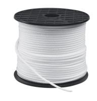 Cabito Nylon Trenzado Blanco - Cabito Poliamida (nylon) de 8 trenzas. Tiene una gran flexibilidad y resistencia a la tracción..   Color: Blanco.   De 2, 2,5 o 3 mm.   Precio por metro. Cantidad mínima 5 m