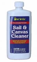 Limpiador de Velas y Toldos Star Brite - - Biodegradable..   - Sin peligro y fácil de usar..   - Elimina instantáneamente la suciedad, la grasa y las marcas negras..   - Ideal para carpas de barco, toldillas y velas..   - No altera el tejido o el hilo..   - Bote 0.5 L