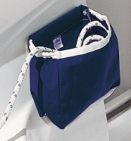 Bolsa para Drizas Plastimo - Bolsa para guardar drizas, fábricada en Dralón Azul o PVC Blanco. Ambos modelos combinados con malla blanca.