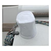 Fundas para Winch PVC Blanco. Servida en bolsa de 2 unidades. - Fundas en material PVC que se fijan por bandasde Velcro. .   Tamaño S - Ø 14 x alt.16 cm.   Tamaño M - Ø 17 x alt.18 cm