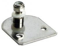 Soporte Placa Plana con Tornillo para Amortiguadores - Para sujeción de los amortiguadores de gas..   Fabricado en ecero inoxidable de 2mm.
