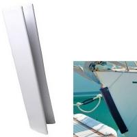 Defensa de Proa Blanca - Defensa de PVC , para usar como protector de proa para veleros o pasarelas si se fija en la popa. Sin decoloración, se puede fijar verticalmente y horizontalmente.