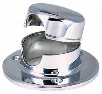Tragacadenas - Fabricado de acero inoxidable AISI316. Diámetro de la base:.   78mm. Distancia entre agujeros: 45mm.