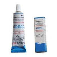 Adhesivo para Neumaticas Neopreno Adeco 65 ml - Adhesivo para Neumaticas Neopreno Adeco.   Para pequeñasreparaciones enembarcaciones neumaticas..   Parahypalon y neopreno.   Contenido: 65ml.
