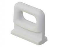 Patin Nylon Blanco Mastil para Carril - Garruchos para velas, nylon blanco, de 25 o 30 mm