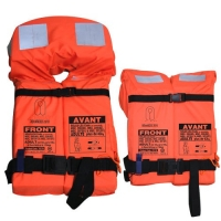 Chaleco Salvavidas SOLAS 2010 plegable (Codigo LSA) - Fabricados para buques donde la zona de estiba de los chalecos es limitado..   Cumple totalmente las nuevas normas OMI que entraron en vigor el 1 de Julio de 2010.