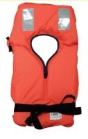 Chaleco salvavida Escapulario 100N, CE ISO 12402-4 - Han sido homologados de acuerdo con la nueva EN ISO 12402-4, EN ISO 12402-7 y EN ISO 12402-9 DE ACUERDO CON LA DIRECTIVA 89/686/ EC para embarcaciones de recreo.