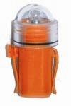Luz Manual para Chaleco Salvavidas - Fabricada en ABS y policarbonato.
