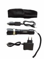Linterna Recargable KONUSLIGHT-RC 5W Water Resistant - Linterna recargable con una potencia máxima de 200 lumens, zoom y tres modalidades de intensidad de luz: máxima (100%), baja (50%), y parpadeante...