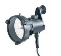 Proyector de Señales HML-ISO 35 - Proyector de Señales 12/24V .   Incluye bateria y cargador.   Muy ligero con función de señales y de luz continua.   Certificado: BSH 4615/4040977/09 según  SOLAS
