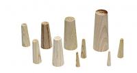 Juego de Espiches - Juego de 10 piezas de madera de distintos diámetros, para taponar vías de agua con diámetros de 4 a 5 mm.