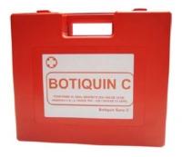 Botiquín para Zonas de Navegacion 1 y 2 - Botiquín tipo maleta, de color naranja y fabricado en plástico inyectado. Válido para uso en Zona 1: Navegación ilimitada y Zona 2: Hasta 60 Millas.