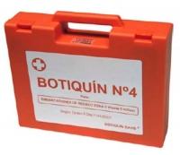 Botiquín Homologado para Zona de Navegacion 5, 6 y 7 - Maletín de plástico rígido. Su interior está dividido en tres compartimentos, para la perfecta colocación de los frascos, apósitos  y medicamentos. Contenido válido para Zona 5, 6 y 7 de embarcaciones de recreo.
