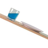 Conjunto de Tapetes Antideslizantes - Set de mesa antideslizante.   Conjunto de 4 tapetes individuales y 4 posa-vasos antideslizantes..   Sujeta los platos y vasos hasta una inclinación de 35º..   Medida:.   Tapetes - 32x24 cm..   Posa-vasos - Ø 10 cm..   Color: Transparente