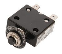 Disyuntor electrico - Disyuntor electrico.   En caso de sobrecarga, desconecta automáticamente la línea..   De 5 o 8 Amp.