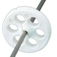 Protector Wichard para Velas - 2 unidades - Solución simple para reducir el roce y desgaste de las velas con los obenques o lineas de vida.   Valido para cables de 6 a 10mm de diámetro.