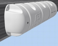 Defensa de pantalan tipo bumper 1/2 - Diseñada para evitar golpes al llegar al pantalán, sobre todo con vientos fuertes o mucha corriente.