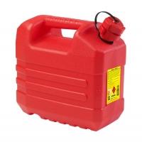 Deposito de Combustible Jerrycan con vertedor - Reforzado de polietileno de alta densidad. Disponible en 3 tamaños. Homologado para transportar combustible.