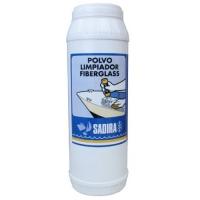 Polvo Limpiador Fiberglass Sadira 500 ml - Polvo Limpiador Multiuso para el Fiberglass, de accisn muy penetrante, que alimina manchas incrustadas y resistentes de sxido ligero, restos de alquitranes, lodos, algas y cualquier suciedad tmpica de las embarcaciones.
