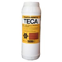 Sadira Tratamiento Teca 1 Limpiador - Permite la completa restauracion y renovado de la madera envejecida de Teca empleada en Marina, que lucira como nueva.