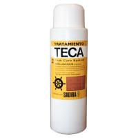 Sadira Tratamiento Teca 2 Abrillantador 500 ml - Permite la completa restauracion y renovado de la madera envejecida de Teca empleada en Marina, que lucira como nueva.