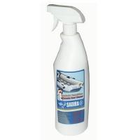 Limpiador neumaticas Sadira 1L - Limpia y protege toda clase de neumáticas de caucho, PVC e hypalon Limpia la suciedad, mugre, manchas de calzado, línea de flotación y manchas de aceite Biodegradable