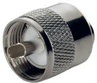 Conerctor macho PL-259 para cable VHF - Conerctor macho PL-259 para cable de antena VHF