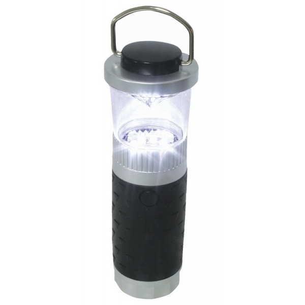 """Linterna 8 LED """"Sea Power"""" - Cuerpo hecho de ABS y vidrio de PVC con el fin de proporcionar una mayor resistencia y durabilidad."""