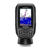 Garmin STRIKER™ 4. Sonda CHIRP con GPS - Sonda a color de 8,9 centímetros (3,5 pulgadas) fácil de usar con GPS de alta sensibilidad incorporado.   Encuentra peces y marca puntos, diques y varaderos para volver a ellos