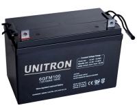 Baterias de servicio Unitron AGM de 90, 110, 165 y 220Ah - Muy baja autodescarga.   · Gran número de ciclos carga/descarga.   · Una descarga total no deja la batería dañada.   · Trabajan en cualquier posición (incluso boca abajo).   · Sin mantenimiento