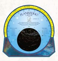 Planisferio celeste latitud 30º-45º - Planisferio Celeste.   Editado en castellano..   Un buscador de estrellas completo y muy manejable, con el horario de invierno y de verano.