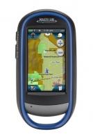 Magellen GPS eXplorist 510 - GPS eXplorist 510 de Magellan, con pantalla táctil de 3 pulgadas, apto para aventuras de geocaching y al aire libre en general, y cámara AutoFocus de 3,2 megapíxeles. Mapa mundial pre-cargado World Edition.  ¡Comparta sus aventuras online!