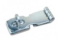Aldabilla con cierre giratorio de seguridad - Fabricado en acero inoxidablepulido brillante 304, con cierregiratorio de seguridad