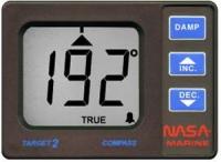 Compas digital Nasa Target - El indicador de rumbo Target muestra los grados 0-360 de rumbo con un grado de resolución, en presentación digital.