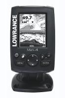 Lowrance Mark-4 GPS/Plotter/Sonda - Ploter y sonda compacto, en escala de grises, con GPS interno que mejora la flexibilidad y seguridad durante la navegación y transductor de popa 83/200 kHz y una potencia de 262W. Sistema básico para la electrónica náutica a un gran precio.  Incluye transductor de popa de doble haz, con temperatura.