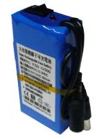 Bateria recargable Li-Ion 12V 6500mAh larga duracion con cargador