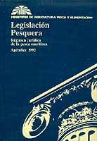 Apéndice de Legislación Pesquera, Regimen Jurídico de la Pesca Marítima