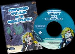 Inmersiones virtuales en el Mediterráneo. CD-Rom - El CD-ROM contiene información de las especies marinas más representativas del Mediterráneo...