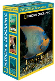 Pack Los Mejores Documentales de Naturaleza Submarina - 5 DVD´s - Pack con 5 DVD´s de National Geographic.