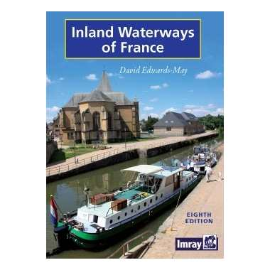 Inland Waterways of France - David Edwards - May - Edición inglesa 2010.   320 páginas.   21 x 29,7 cm.   Encuadernación: Tapa dura