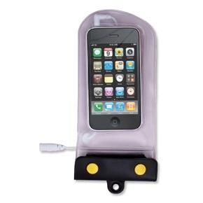 Funda estanca reforzada para Smarphon o iPhone - Bolsa estanca IPX8, de material plástico translucido soldado, para Smarphon.