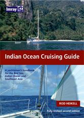 Indian Ocean Cruising Guide- Rod Heikell - Edición Inglesa 2007.   260 páginas .   21 x 30 cm.   Encuadernación: Tapa dura